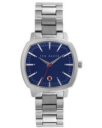Ted Baker London Hamilton Stainless Steel Bracelet Watch