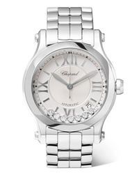 Chopard Happy Sport 36mm Stainless And Diamond Watch