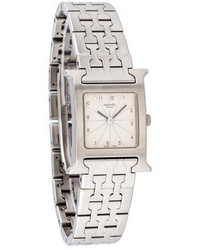 Hermes Herms H Hour Watch