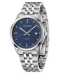 Calvin Klein Infinite Too Automatic Bracelet Watch