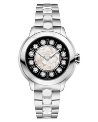 Fendi Ishine Rotating Gem Bracelet Watch