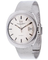 IWC Automatic Vintage Analog Watch