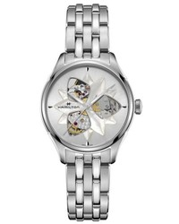 Hamilton Jazzmaster Viewmatic Open Heart Bracelet Watch 34mm