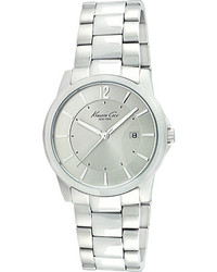 Kenneth Cole New York Kc3915 Stainless Steelgrey Wrist Watches
