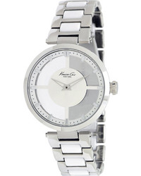 Kenneth Cole New York Kc4827 Steelwhite Analog Watches