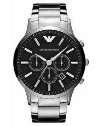 Emporio Armani Large Round Chronograph Watch