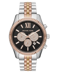 MICHAEL Michael Kors Lexington Chronograph Bracelet Watch