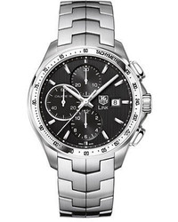 Tag Heuer Link Black Dial Chronograph Watch