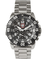 Luminox Colourmark 3182 Stainless Steel Chronograph Watch