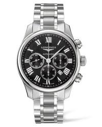 Longines Master Automatic Chronograph Bracelet Watch