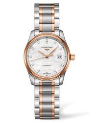 Longines Master Automatic Diamond Bracelet Watch
