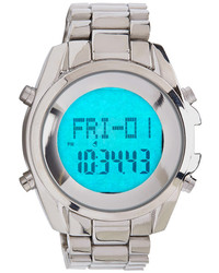 Forever 21 Metallic Digital Display Watch