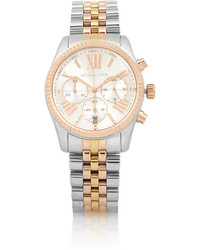 Michael Kors Michl Kors Lexington Stainless Steel Chronograph Watch