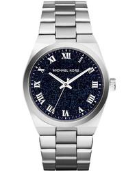 Michael Kors Michl Kors Mini Channing Silver Stainless Steel Watch