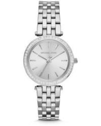 Michael Kors Michl Kors Mini Darci Stainless Steel Glitz Bracelet Watch
