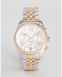 Michael Kors Michl Kors Mk5735 Lexington Bracelet Watch In Mixed Metal