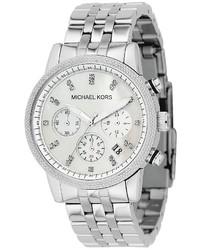 Michael Kors Michl Kors Stainless Steel Chronograph Watch 38mm