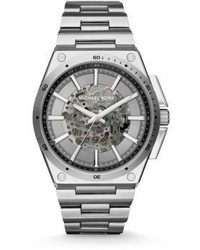 Michael Kors Michl Kors Wilder Stainless Steel Automatic Bracelet Watch