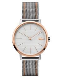 Lacoste Moon Stripe Mesh Watch