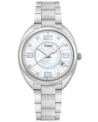 Fendi Moto Diamond Bracelet Watch 34mm