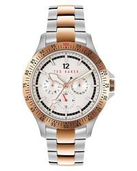 Ted Baker London Northn Two Tone Bracelet Watch
