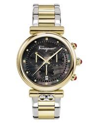 Salvatore Ferragamo Ora Chronograph Bracelet Watch