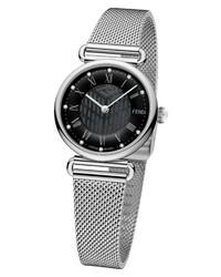 Fendi Palazzo Diamond Marker Mesh Watch