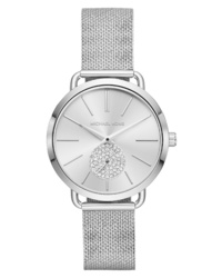 Michael Kors Portia Mesh Watch