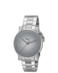 Puma Silver Metal Watch