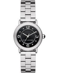 Marc Jacobs Riley Stainless Steel Bracelet Watch