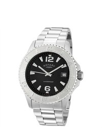 Rotary Stainless Steel Watch