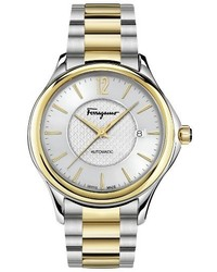Salvatore Ferragamo Time Automatic Bracelet Watch 41mm