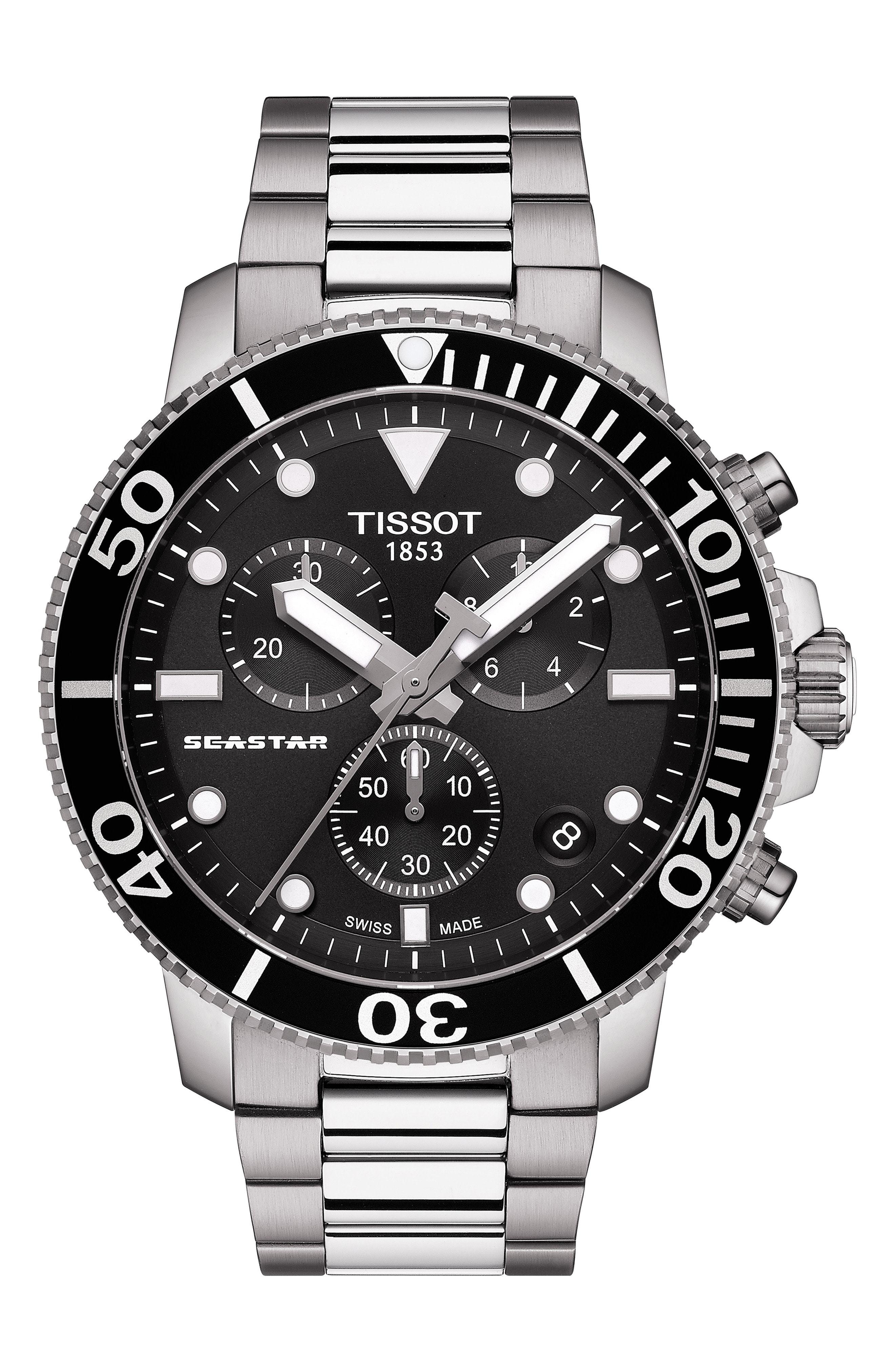 Tissot Seastar 1000 Chronograph Bracelet Watch