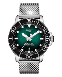 Tissot Seastar 1000 Powermatic 80 Mesh Bracelet Watch