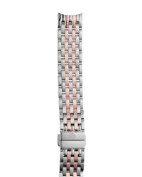 Michele Sidney 18mm Two Tone Watch Bracelet