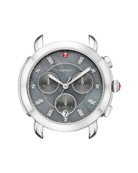 Michele Sidney Chronograph Diamond Watch Head