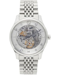 Gucci Silver 40mm G Timeless Watch