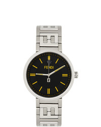 Fendi Silver And Black Forever Watch