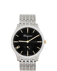 Salvatore Ferragamo Silver Ferragamo Slim Watch