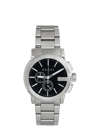 Gucci Silver G Chrono Watch