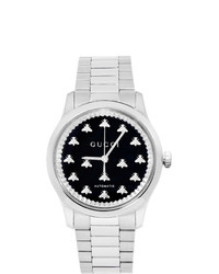 Gucci Silver G Timeless 38mm Watch