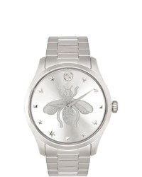 Gucci Silver G Timeless Iconic Watch