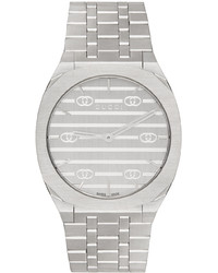 Gucci Silver Gold 34mm 25h Watch