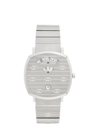 Gucci Silver Grip Watch