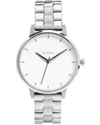 Nixon Silver Kensington Watch