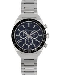 Salvatore Ferragamo Silver Slx Watch