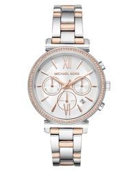 Michael Kors Sofie Chronograph Bracelet Watch