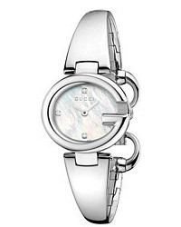 Gucci Ssima 27mm Stainless Steel Bangle Watch Ya134504 Watches