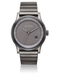 Nixon Station Stainless Steel Bracelet Watch