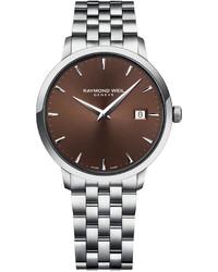 Raymond Weil Swiss Toccata Stainless Steel Bracelet Watch 39mm 5488 St 70001
